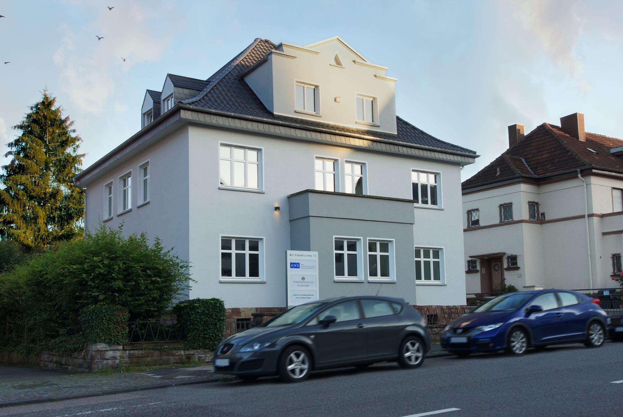 AWS Steuerberatung Saarbrücken Stiebel Altmeier Deeken Janek Pfeufer Architektur